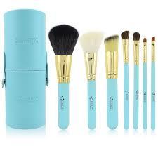 eyebrow brushes kit. portable 7pcs professional makeup brushes tools eyeshadow set cosmetics for makeup,makeup kit free shipping eyebrow