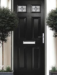 black front doorBlack Front Doors  Adoored Composite Doors