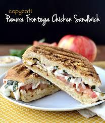 panera sandwiches. Modren Panera Copycat Panera Frontega Chicken Sandwich  Iowagirleatscom Inside Sandwiches