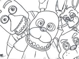 Coloring Pages Of Mangle And Foxy Coloring Pages Withered Foxy Page