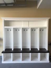 Entryway locker Dropzone for Mudroom - 5 Cubby Mudlocker - Free ...