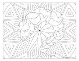Onix Pokemon 095 Coloring Pages Kleurplaten Kleuren Platen