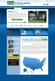 fsbo flat fee real estate web site development and web design for view full screenshot