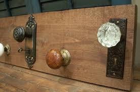 Knob Coat Rack Delectable Vintage Door Knob Coat Rack Door Knobs
