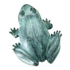 frog garden statue small bull cast bronze statues ornaments sculptures zen sculpture