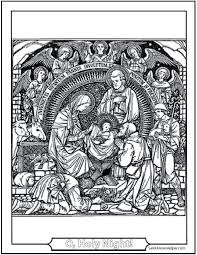 christmas angel coloring pageschristmas angel coloring pages  adoration of the angels and shepherds