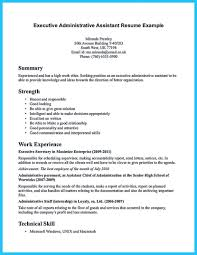 Administrative Assistant Resume Template Saneme
