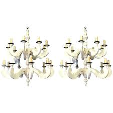 paul ferrante pair of country chandeliers for paul ferrante rope chandelier
