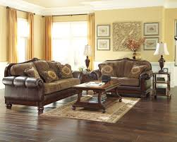 ashley furniture 14 piece 799 sale living room. living room, beamerton heights chestnut sofa \u0026 loveseat ashley furniture 14 piece room set 799 sale g