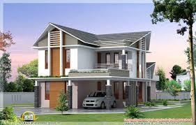 Plan 2 étages Design Et Moderne Avec Terrasse