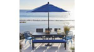 crate barrel outdoor furniture. alfresco sunbrella dining bench cushion crate barrel outdoor furniture