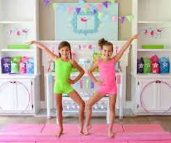 Gymnastics Birthday Party Decorations Gymnastics Birthday