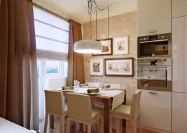Exposed Brick Kitchen Kitchen Kitchen With Breakfast Nook Idea And Brick Wall Exposed
