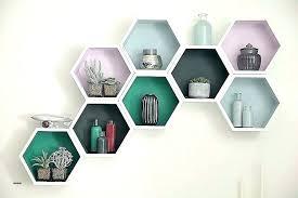 hexagon wall shelves honey wooden hexagon wall shelves hexagon wall shelves