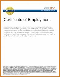 Employee Working Certificate Format Certificate Template Service Certificate Template For Employees 20