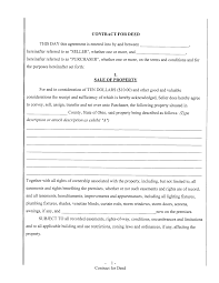Free Printable Contract Forms Free Printable Contract For Deed Portablegasgrillweber 10