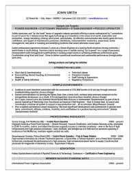 Power Engineer Resume Sample & Template
