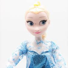disney kid toys 30cm cute cartoon princess dolls frozen elsa a with light let it go for kid children birthday gift in dolls from toys hobbies on