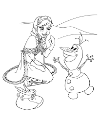 Disegni Di Olaf Frozen