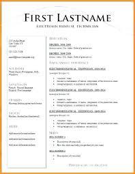 Bistrun Different Types Of Resumes Simple Snapshot Format Resume