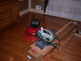 miter saw finish nailer and hardwood flooring