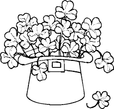 Small Picture shamrock coloring pages coloring sheets st patricks coloring