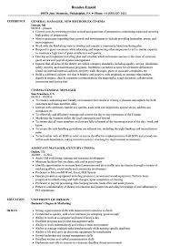 Restaurant General Manager Resume Famous Sample Resume Restaurant General Manager Contemporary 49