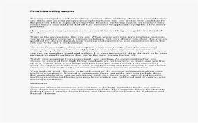 Cover Letter Example For Job Classy How To Write A Cover Letter With No Name Photo What Is The Best Way