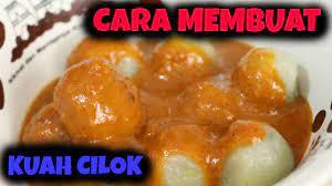 Ada berbagai macam resep cilok agar cita rasa makanan berbentuk bulat ini tak monton. How To Make Cilok Sauce Cara Membuat Kuah Cilok Youtube