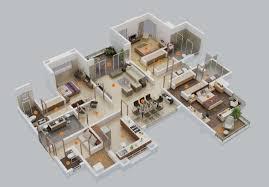 ... Image Of Design Ideas 5 Bedroom House Floor Plans Full Size