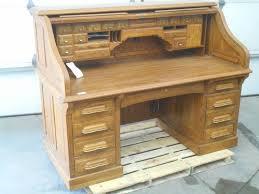 national mt airy oak roll top desk loretto equipment 304 k bid