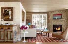 living room with wall texture interior design ideas