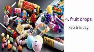 Từ vựng tiếng anh về các loại bánh kẹo hằng ngày - YouTube