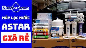 AQUA ASTAR 09 máy lọc nước RO Gia đình GIÁ RẺ Lọc nước Tinh khiết Uống Trực  tiếp #Astar - YouTube