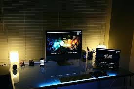 under desk led lighting. Under Desk Lighting Fabulous Strip Dazzling Colored Effects Using Led Strips E