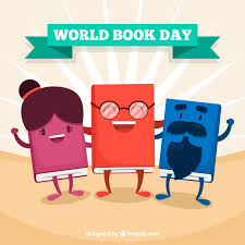 nice flat background for the world book day free vector