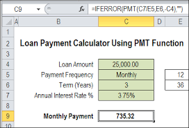 Loan Payment Calculator On Tildee How To And Step By Step Instructions