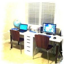 Our DIY two person desk! I love it.