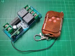 Review 12v 2 Channel 315MHz Wireless Remote Control Module