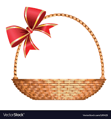 gift basket vector image