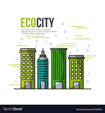 Ecological City Design Eco City Ecological Related Icons Image