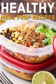 healthy meal prep recipes 2018 recipes for breakfast lunch snacks dinner