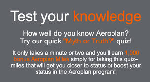 Get 1000 Aeroplan Air Canada Miles In About A Minute