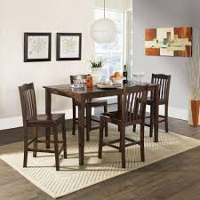 dark wood and gl dining table excellent round dining table with chairs kitchen table 8 chairs