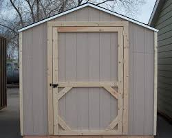 Shed Door from probarnplans