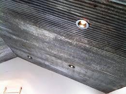 tin roof house tin ceiling pole barn
