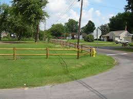 wood rail fence. Beautiful Fence Post And Rail Fence  Robinson Springfield MO  Wood Fencing Chain  Link Vinyl Commercial Ornamental Fencing With
