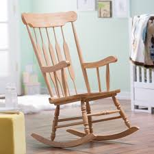 wooden rocking chair for nursery. wooden rocking chair for nursery hayneedle