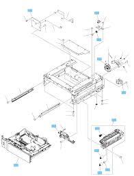 1x500 sheet paper feeder ponents