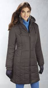 LeatherCoatsEtc Women's Leather Jackets and Coats | .com | Page 5 & Zip Front Hooded 3/4 Quilted Jacket Adamdwight.com